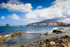 Trapani sicilya Royalty Free Stock Images