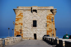 Trapani (torre de Ligny) Foto de Stock