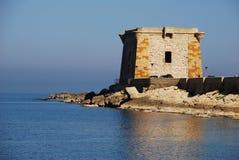 Trapani (torre de Ligny) Fotos de Stock Royalty Free