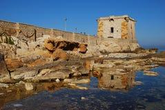 Trapani (torretta di Ligny) Fotografia Stock Libera da Diritti