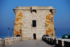 Trapani (torretta di Ligny) Fotografia Stock