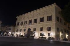 Trapany city hall Royalty Free Stock Image