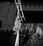 Trapeze black and white tone Royalty Free Stock Photography