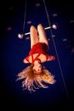 Trapeze Lady 4 Royalty Free Stock Photos