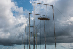 Trapeze Outdoors Stock Photography