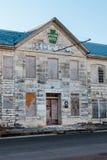 Trapezfehlerhotel Lampasas 1870 Texas lizenzfreies stockfoto