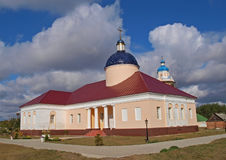 Trapeznaja church (Baturinsky monastery) Royalty Free Stock Images