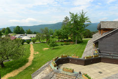 Free Trapp Family Lodge, Stowe, Vermont, USA Royalty Free Stock Image - 88211916