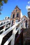 Trappa av Oudegracht Utrecht, Nederländerna Royaltyfria Bilder