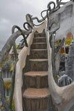 Trappa för galet hus Royaltyfri Fotografi