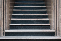 trappa för ingångshotellhuvudmarmor till Royaltyfria Foton