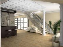 trappa för teckningslokal Royaltyfria Bilder