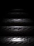 Trappa för vektormetalltextur som ner går Royaltyfri Bild