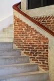 Trappa i byggnaden Arkivfoto