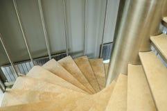 Trappa i en byggnad Arkivbilder