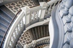 Trappa med balusters Royaltyfri Fotografi