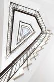 Trappa på Koernerhaus, Hamburg Royaltyfri Bild