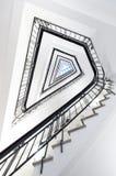 Trappa på Koernerhaus, Hamburg Arkivbild