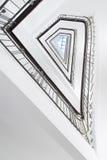 Trappa på Koernerhaus, Hamburg Arkivfoto