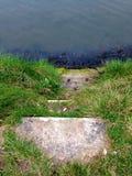 trappa som ska waters Royaltyfria Bilder