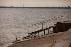trappa som ska waters Fotografering för Bildbyråer