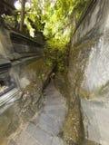 Trappa till den Padang padangstranden Royaltyfri Foto
