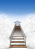 Trappa till himmel Arkivfoto
