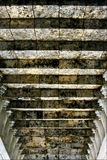 Trappan kliver och kolonnen Arkivfoton