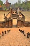Trappaväg till forntida historia Arkivbild