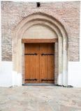 Trappe à la forteresse historique Photographie stock libre de droits