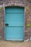 Trappe bleue photographie stock libre de droits