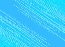 Trappe bleue de fond avec l'effet tramé Retr d'art de bruit de vintage illustration libre de droits