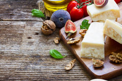 Trappe cheese Royalty Free Stock Images