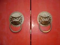 Trappe - décoration d'hublot Photographie stock libre de droits