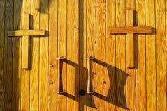 Trappe d'église Photographie stock