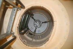 Trappe d'évacuation sous-marine photo libre de droits