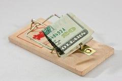 Trappe d'argent Images libres de droits