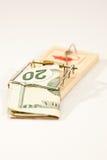 Trappe d'argent Photo libre de droits