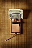 Trappe d'argent Image libre de droits