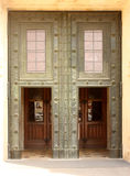 Trappe d'entrée principale de cathédrale Images stock