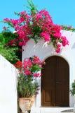 Trappe dans Lindos - île Rhodes Image libre de droits