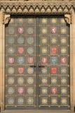Trappe de cathédrale de Vysehrad Images libres de droits