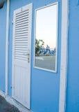 Trappe de hutte de plage Photo libre de droits