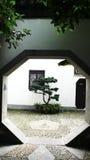 Trappe de jardin Image stock