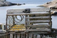 Trappe de langoustine Images stock