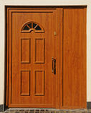 Trappe en bois Image stock
