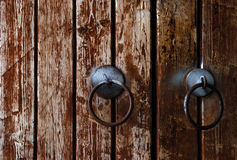 Trappe en bois Photographie stock libre de droits