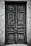 Trappe en bois antique Photographie stock libre de droits