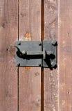 Trappe en bois de Brown image libre de droits