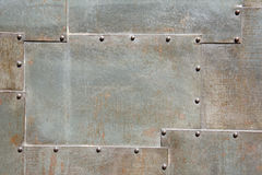 Trappe en métal Photographie stock